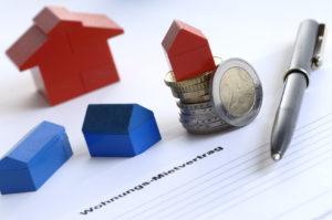 Mietvertrag fr neue Wohnung